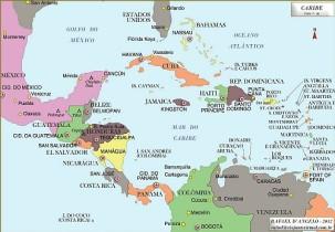 Mapa del caribe small