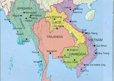 cartina thai small