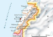 Libano_mappa small