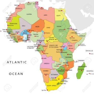 mappa- africa small
