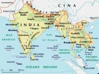 cartina india small