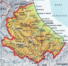 mappa abruzzo small